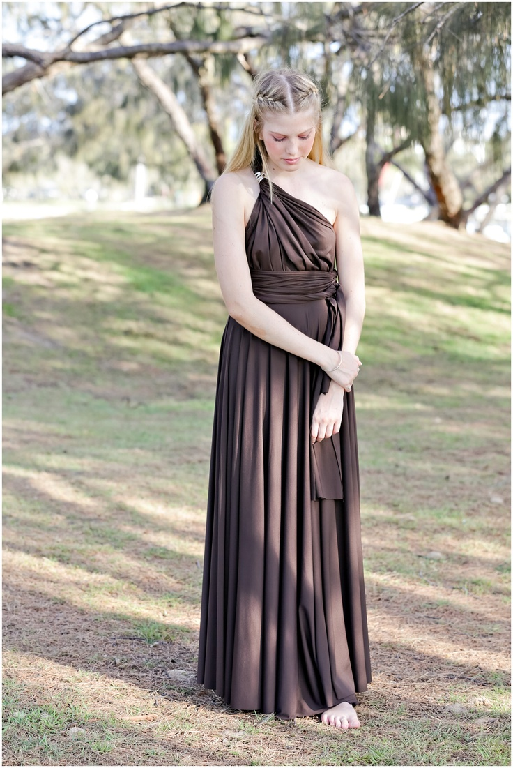 47 best dessy twist wrap bridesmaid dress images on pinterest lucy and loo full length convertible bridesmaid dress in chocolate wrap and twist this dress ombrellifo Images