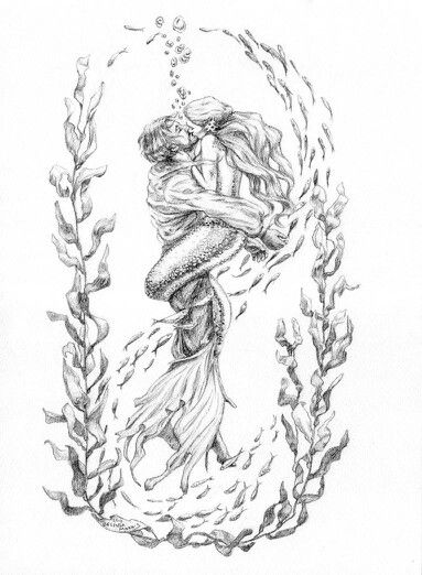 '' sailor and mermaid