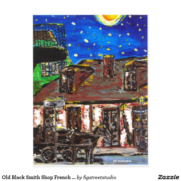 Old Black Smith Shop French Quarter