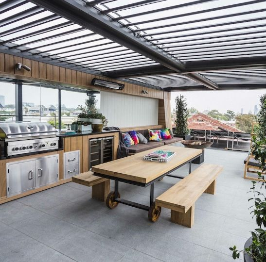 Terrace Garden Ideas In Hyderabad Kitchen For Your Rooftop: Rooftop Terrace From The Block 2014