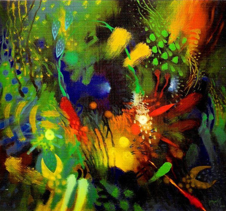 ARTE ABSTRACTO MODERNO ÓLEO | El club del arte, pinturas