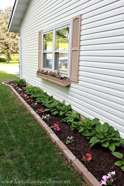 Add Edging To Flower Beds