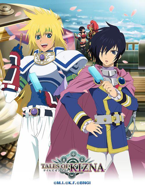 Tales of Destiny Characters (Tales of Kizna wallpaper)