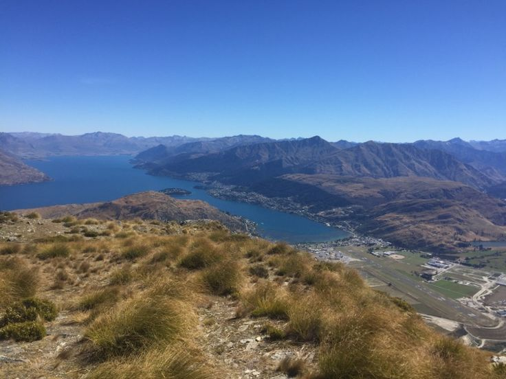 View from the top of The Remarkables today!