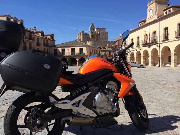 Kawasaki ER-6n Por Turégano (Segovia)
