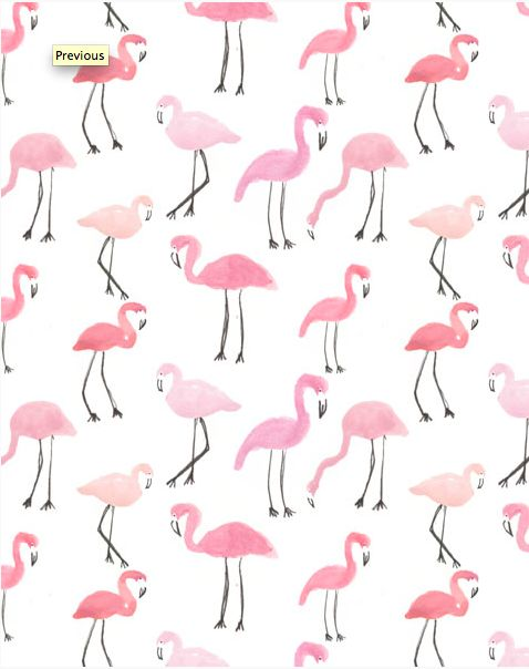 Perfect Flamingo Print
