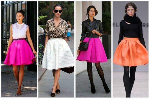Trendy skirts 2016 - photos