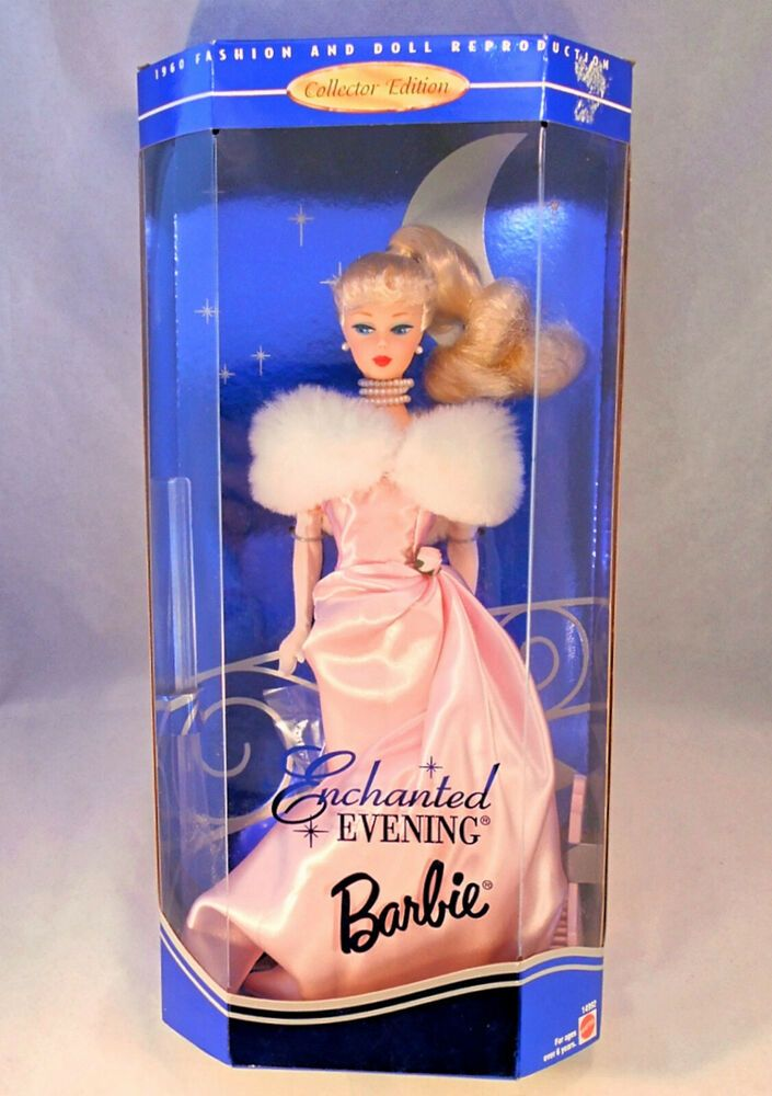 Enchanted Evening Barbie Doll 1996 Reproduction 1960 Collector Edition 14992 Mattel In 2020 Barbie Dolls Barbie Dolls For Sale Barbie