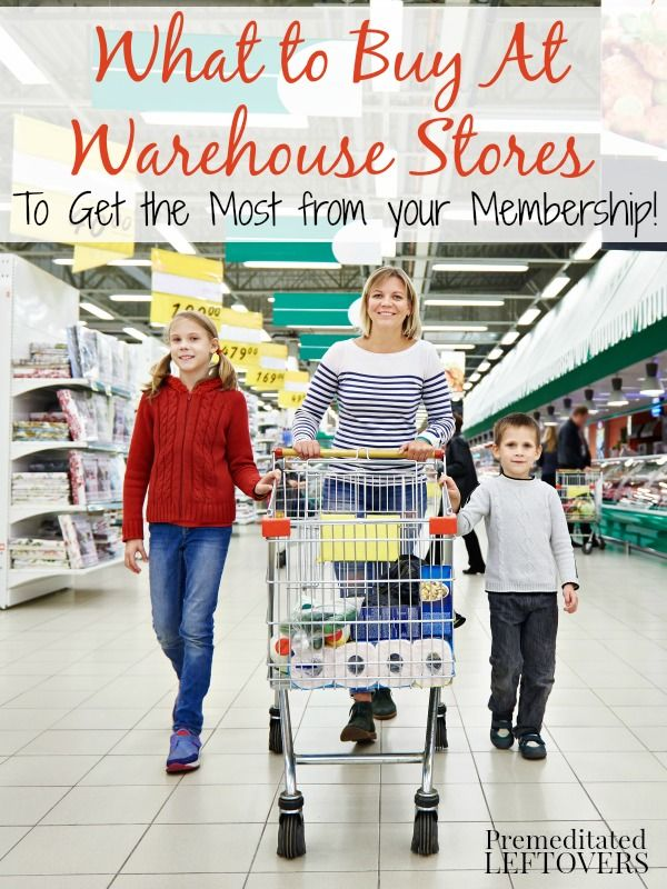 What to Buy at Warehouse Stores-Be savvy when you shop at warehouse stores. What to buy and what to avoid when buying groceries at a warehouse store.