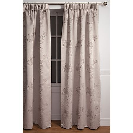 Living & Co Curtains Dandelion Stone Grey Extra Large 205cm Drop - Living & Co - Curtains - Curtains & Blinds - The Warehouse