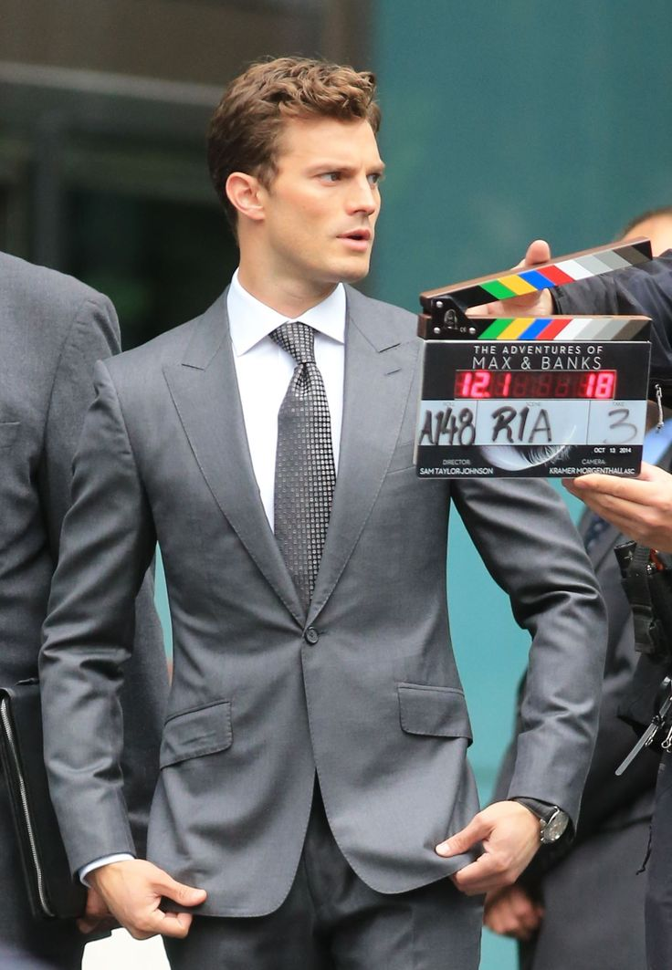 Pics: Jamie Dornan reshoots scenes for 'Fifty Shades of Grey'