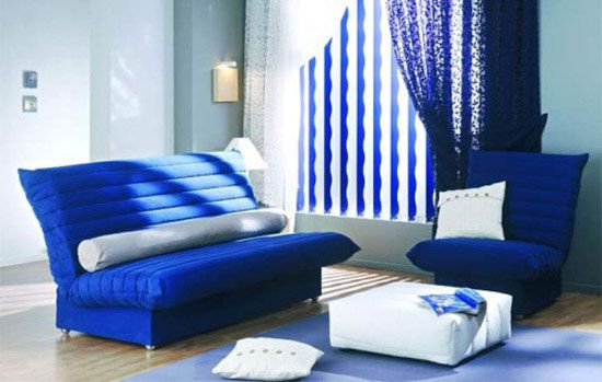 Sapphire Blue Room Colors Deep Blue Color Combinations For Room Decorating Living Room