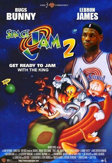 Space Jam 2 LeBron James #iwish