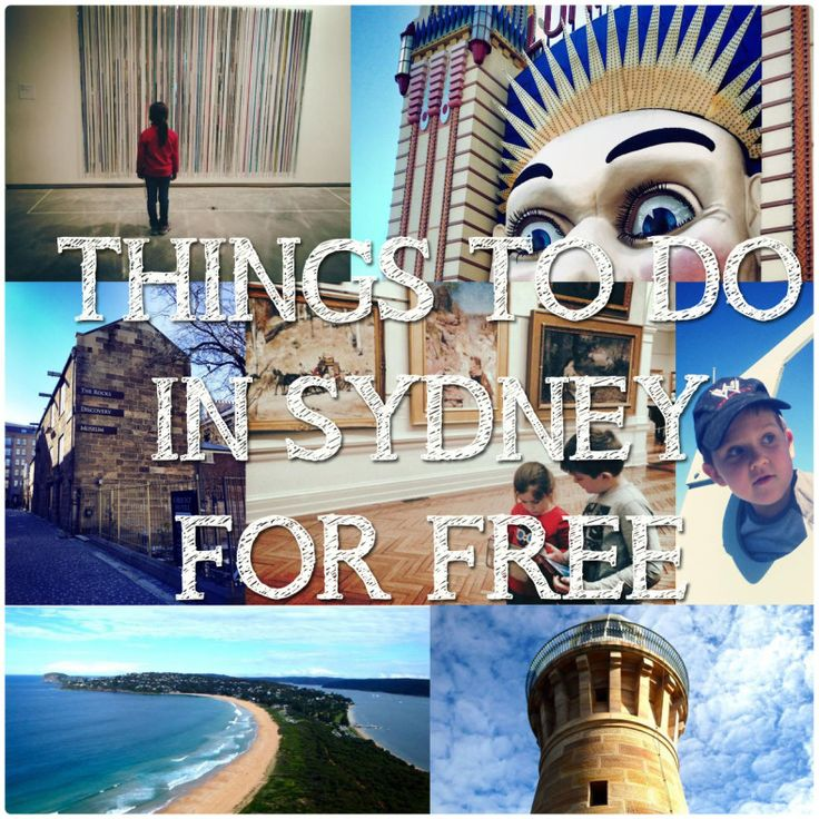 Travelling With Kids : Things To Do In Sydney For Free (Sydney, New South Wales)