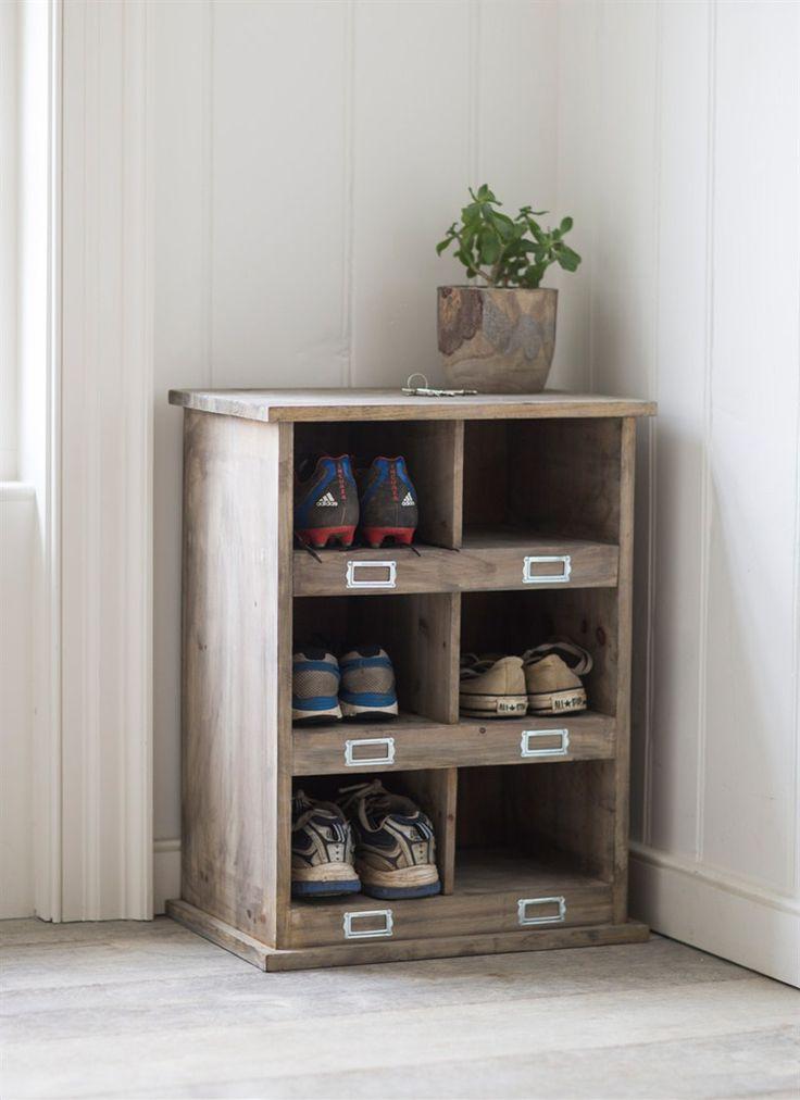 Chedworth Shoe Locker In 2019 Wooden Shoe Storage Shoe