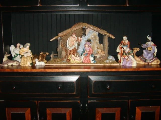 Homco Home Interiors 2004 Greatest Stories Ever Told Nativity Set Nativity Set House Interior Great Stories