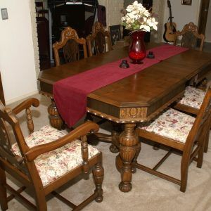 Vintage Dining Room Table Sets