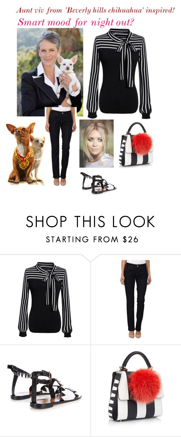 """""""My ideal wardrobe by me: Aunt viv from 'Beverly hills chihuahua' inspired!"""" by sarah-m-smith ❤ liked on Polyvore featuring WithChic, Mavi, Kalmar and Les Petits Joueurs"""