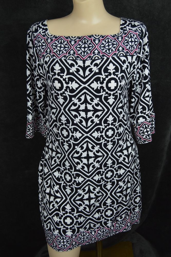 White House Black Market Dress size medium M square neck poly spandex FREE SHIPP #WhiteHouseBlackMarket #Sheath #Any