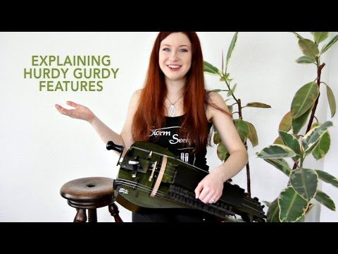 Explaining the Features of my Hurdy Gurdy! / PATTY GURDY - YouTube