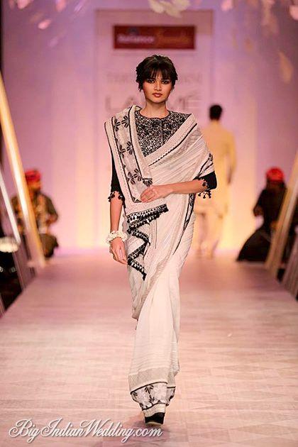 Tarun Tahiliani designer saree collection