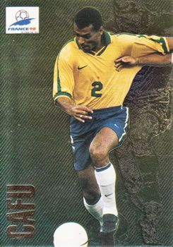 1998 Panini World Cup #10 Cafu Front
