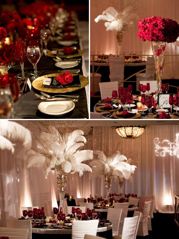 Vintage Glam From Details Details and Fiori Fresco Special Events | Style Me Pretty