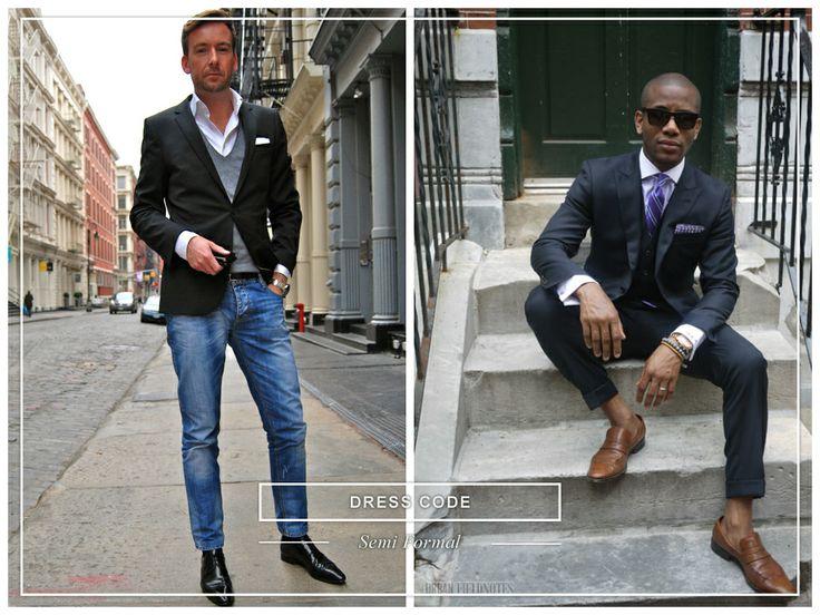 #dresscode #semiformal #man