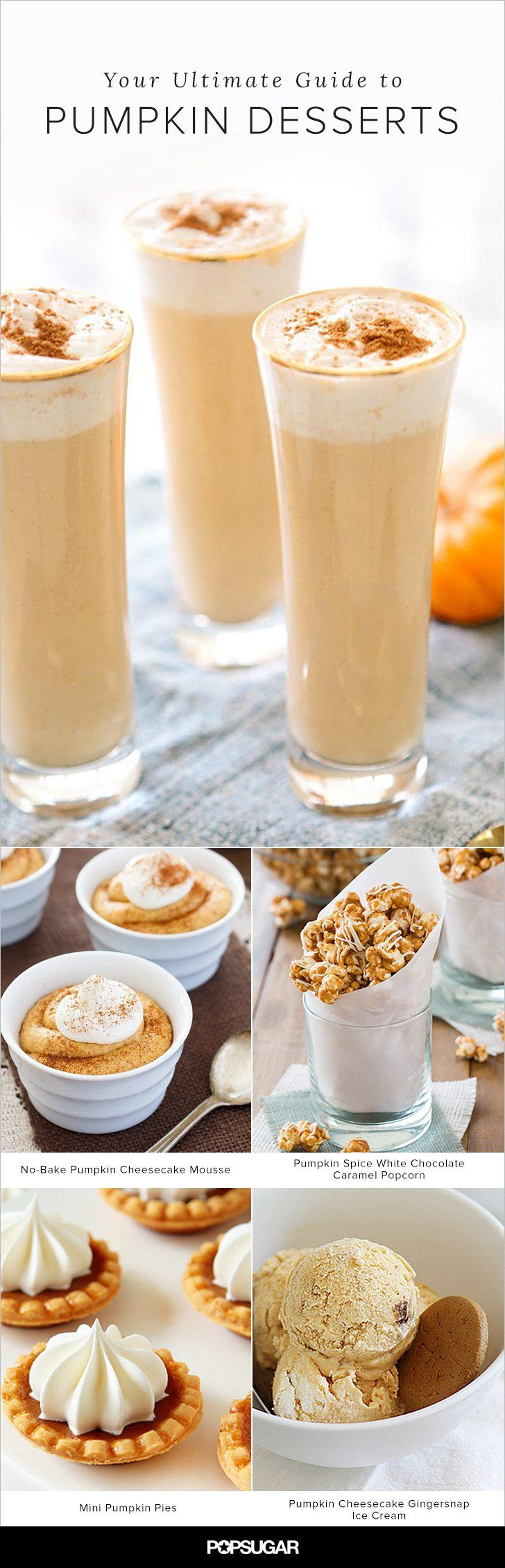 It's never too late to hop on the pumpkin bandwagon this Fall! Here are all the amazing pumpkin dessert recipes you need to make before Halloween!