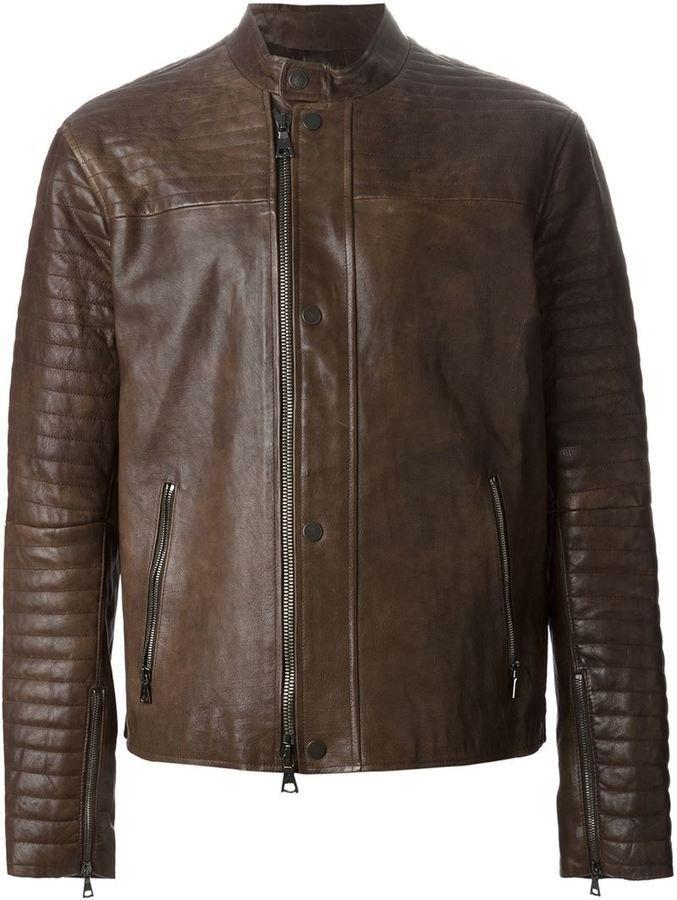 113 best Men's leather jacket images on Pinterest | Accessories ...