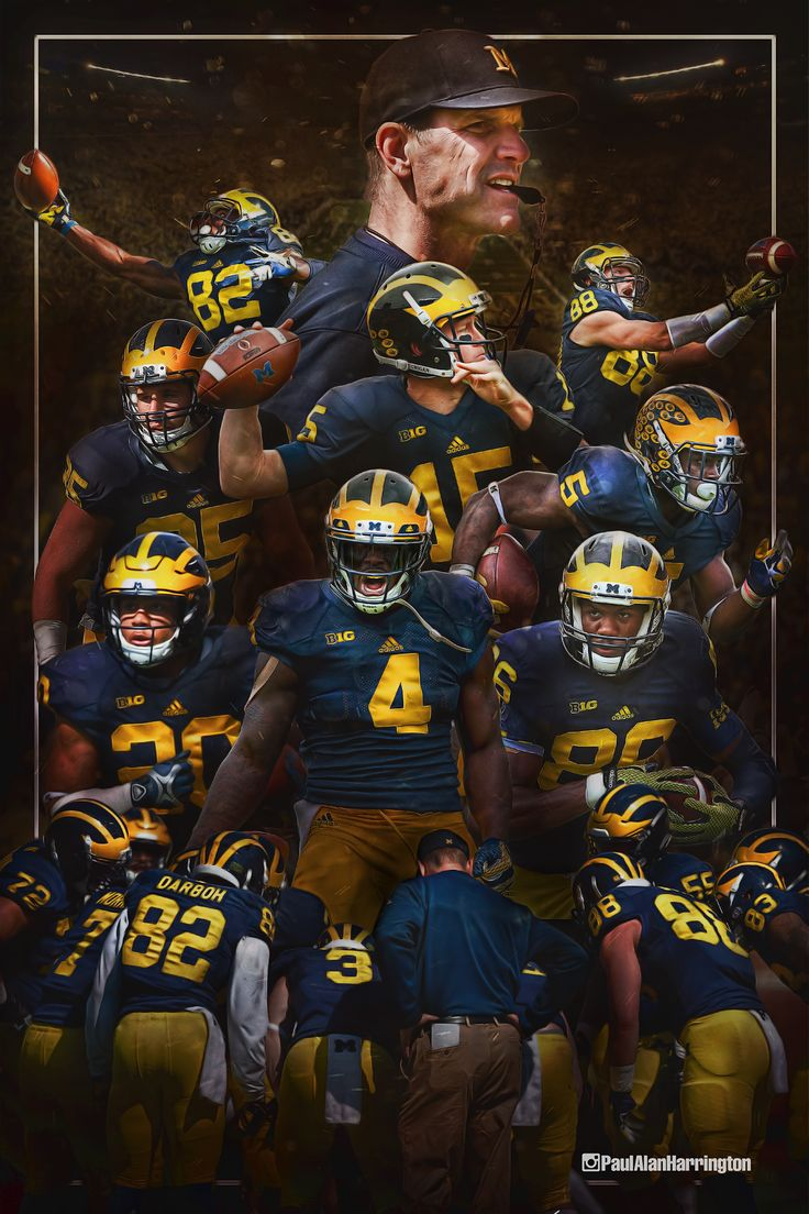 University of Michigan Football on Behance