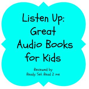 Great audio books for young children