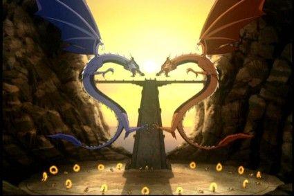 Avatar The Last Airbender  Dragons Tattoo Idea