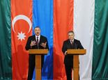 Ilham Aliyev was interviewed by the Hungarian National Television