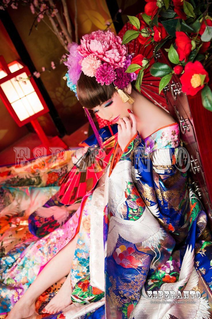 花魁ギャラリー | 京都最大規模の花魁体験スタジオESPERANTO