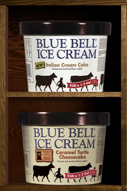 Blue Bell Italian Cream Cake Ice Cream