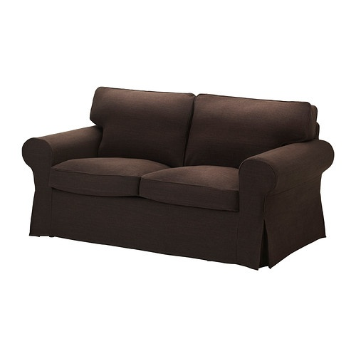 EKTORP Housse de canapé 2pla - Edsken brun - IKEA