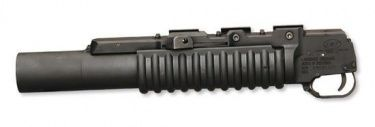 "LMT M203 grenade launcher with 12"" barrel - 40x46mm"