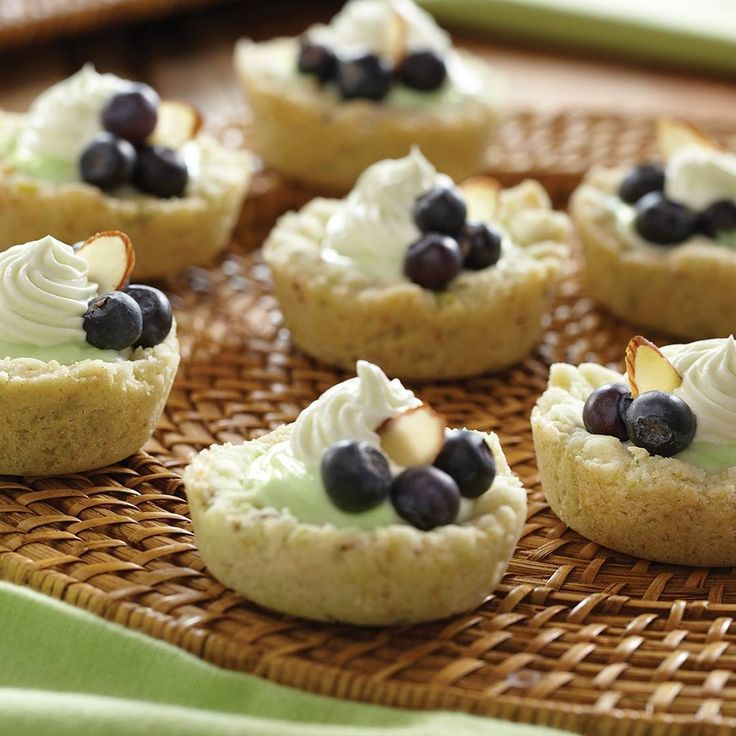 Have you tried our summer Key Lime mixes yet? They're the star of this summery recipe. Check out the recipe link in our bio. #Pillsbury #KeyLime #Tarts #Yum...    #bio #check #key #KeyLime #Lime #Link #mixes #Pillsbury #recipe #star #summer #summery #Tarts #Theyre #yum