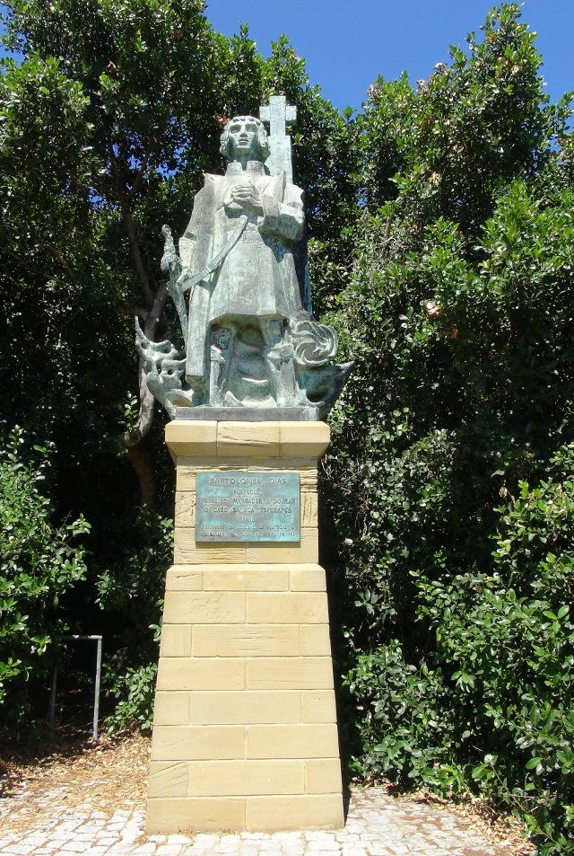 Statue of Bartholomeu Diaz in Mossel Bay
