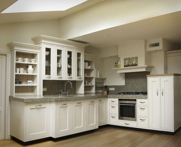 Keukens landelijk hout google zoeken kitchen - Klein keuken model ...