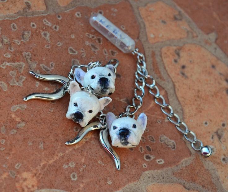French bulldog Kery bracelet...