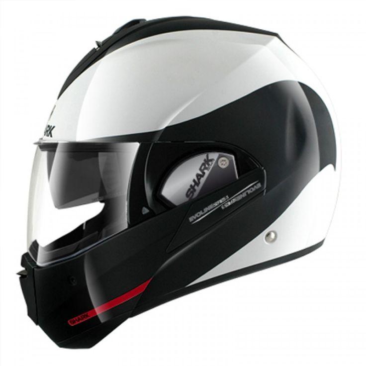 O Shark Evoline Serie 3 Moov-UP WKR é capacete escamoteável mais versátil da linha Shark, ideal para ser utilizado em viagens ou na cidade, destaca pelo peso reduzido. O modelo Shark Evoline Serie 3 Moov-UP WKR representa a solução ideal para piloto que procura um capacete de alta performance.