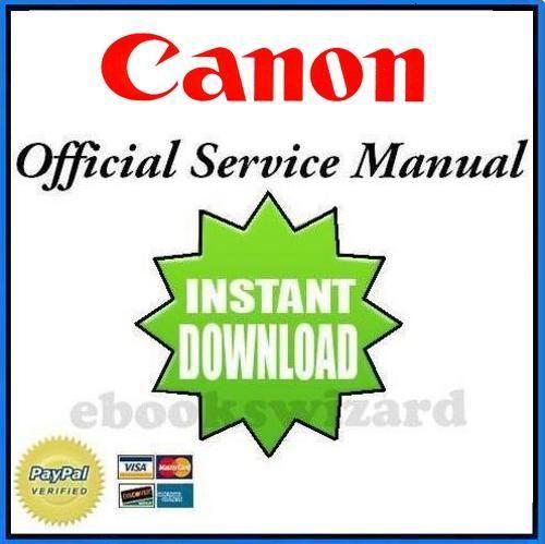 Canon NP6512 NP6612 NP7120 NP7130 Service & Repair Manual + Handbook + Parts Catalog