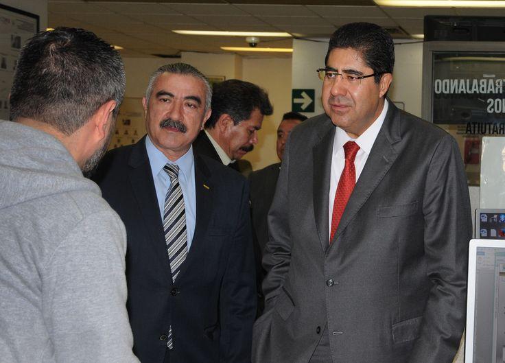 Procurador Edmundo Garrido supervisa labores y atención del Ministerio Público Cuauhtémoc 7