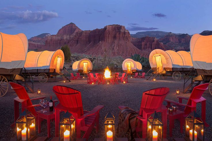 Capitol Reef Resort in Torrey, Utah offers a retreat that perfectly complements one of Utah's five national parks.