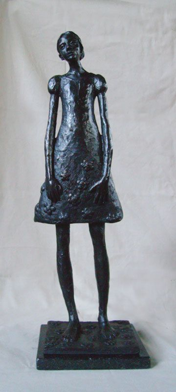 'Cherry Blossom' Commissioned bronze sculpture by South African artist: Grace da Costa. www.gracedacosta.com