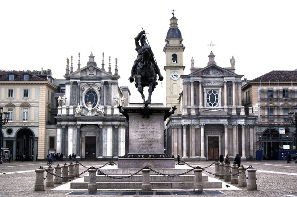 Piazza San Carlo, by Francesco Bianco