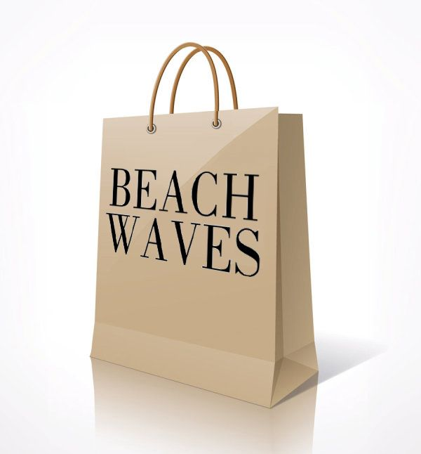 L'Oréal Professionnel Beach Waves Paper Shopping Bag.