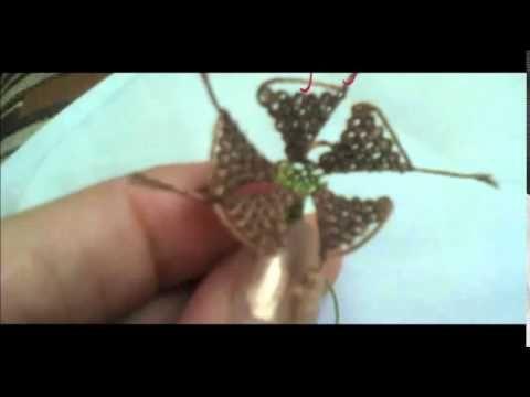 İğne Oyası Gelincik Çiçeği Yapımı - YouTube